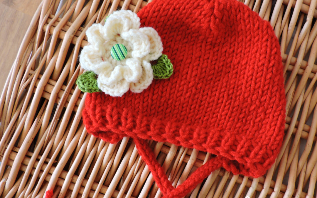 O Scufiţă Roşie – bonețică tricotată